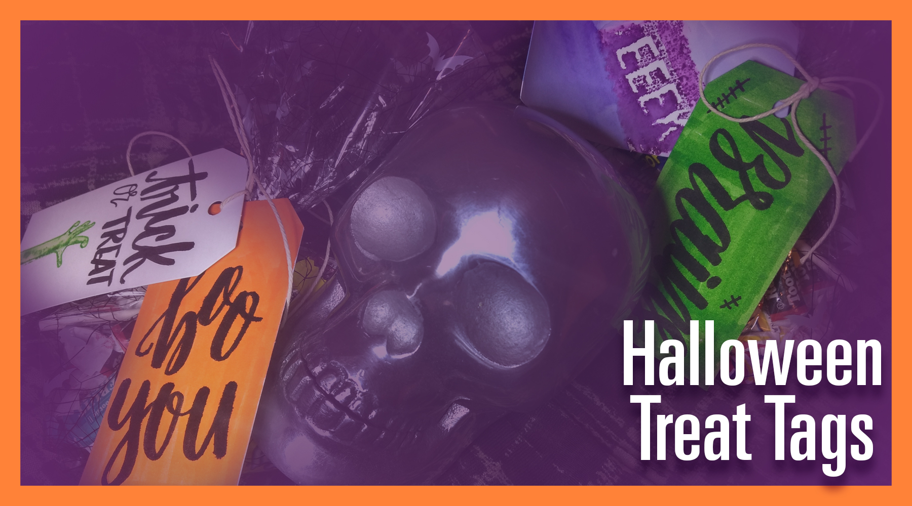 Tutorial: Halloween Treat Tags